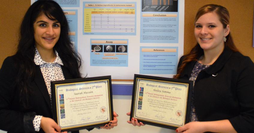Two Rosemont students receive science awards