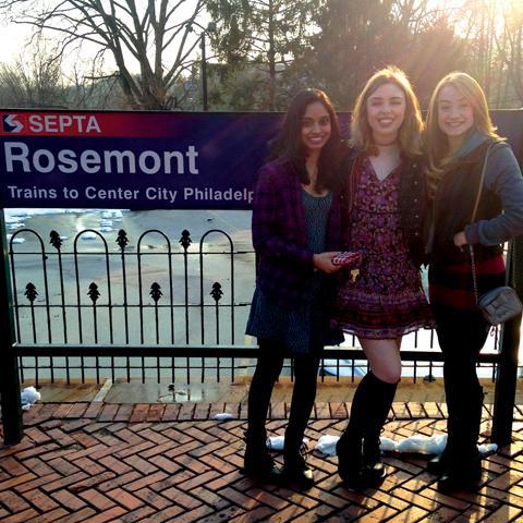 Rosie, Archana, and Sam head into Philadelphia