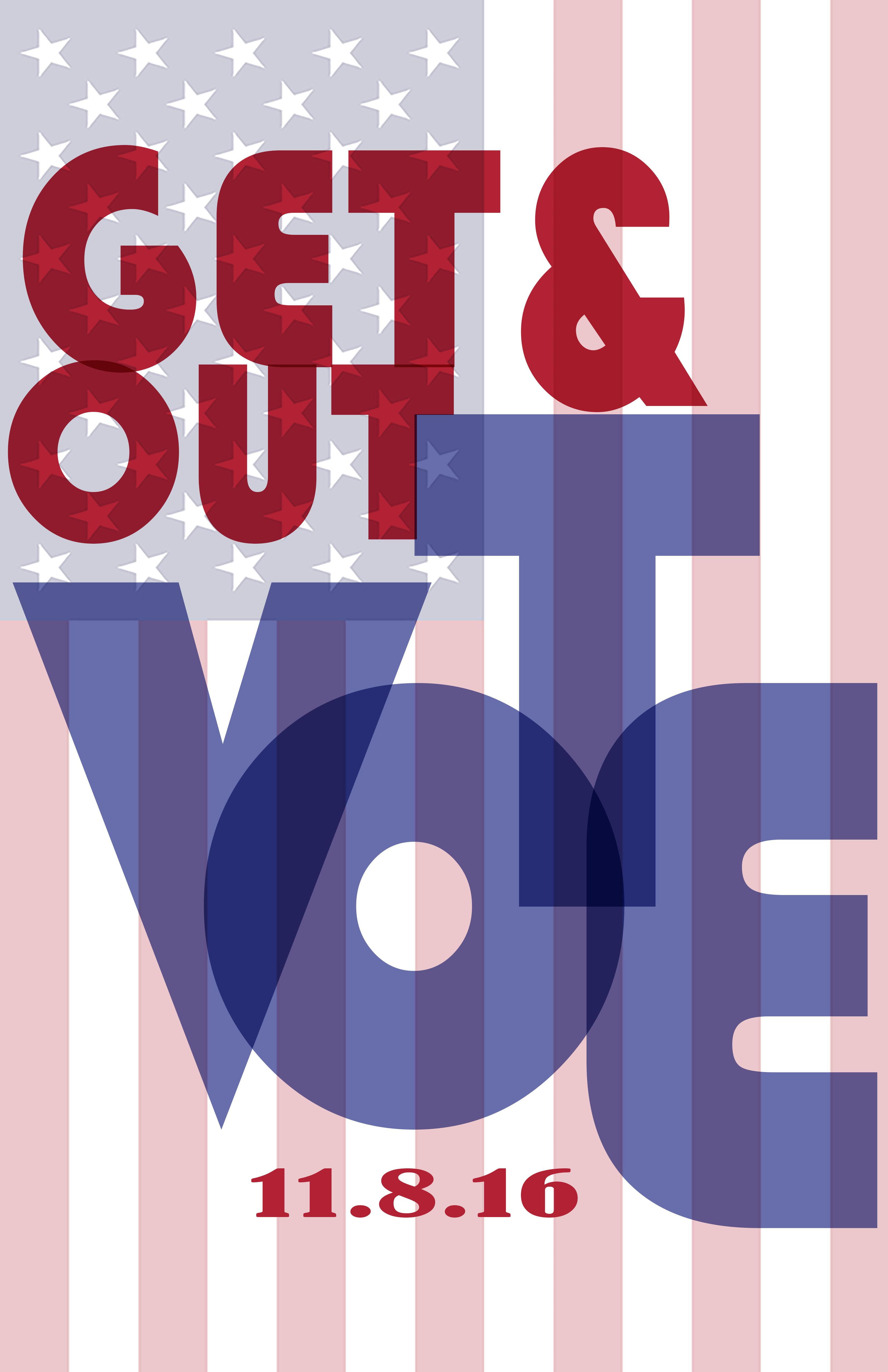 Poster design for students - Students Were Charged With Finding The Type To Include On Their Posters And With The Creating The Focus Of Their Poster Get Out The Vote Statistics