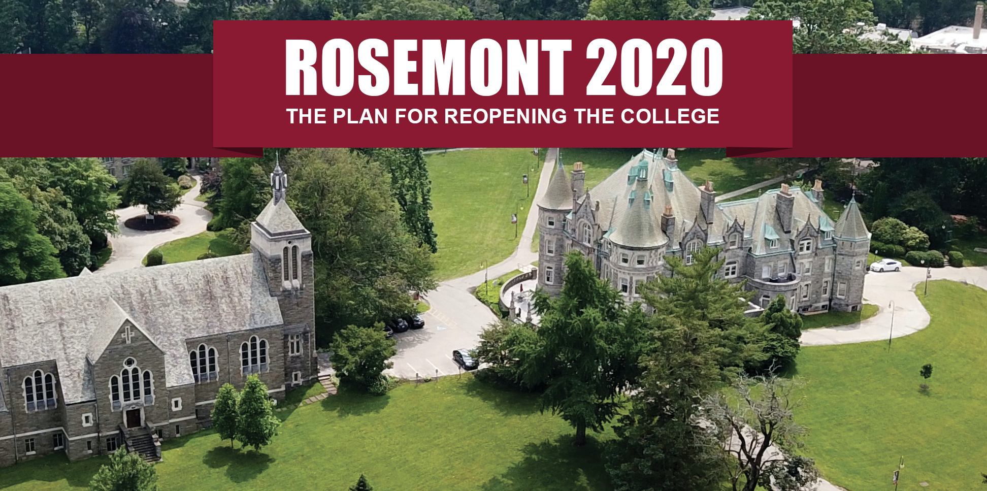 rosemont college campus map Homepage Rosemont College Rosemont College rosemont college campus map