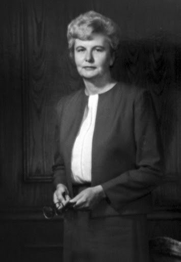 Black and white portrait of Dorothy McKenna Brown