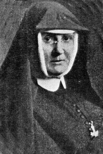 Black and white portrait of Mother Mary Joseph Dalton