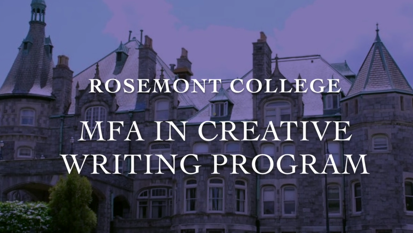 Rosemont College MFA in Creative Writing Holiday Party 2017