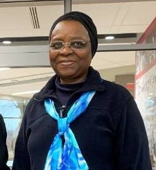 Sr. Veronica Openibo, Society Leader of the Society of the Holy Child Jesus