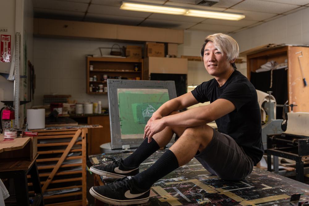 Senior Art Students Find New Way to Showcase Work